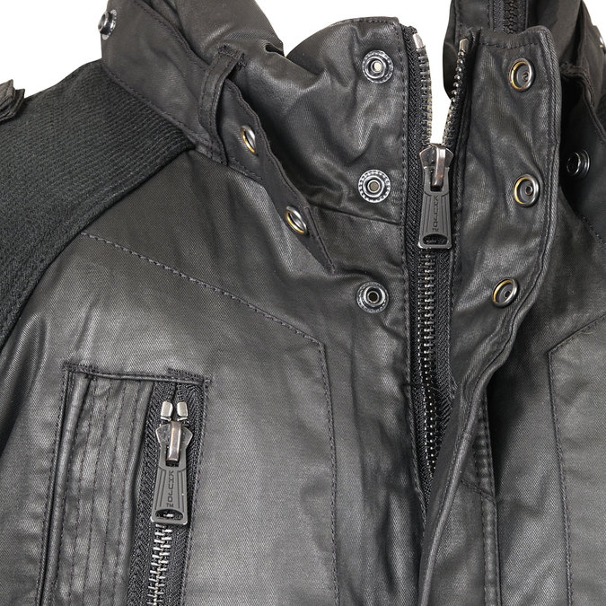 Pánská zimní bunda khujo, černá, 979-6036 - 16