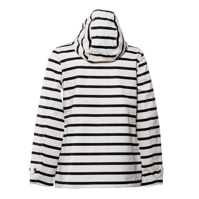 Pruhovaná dámská bunda joules, bílá, 979-6033 - 26