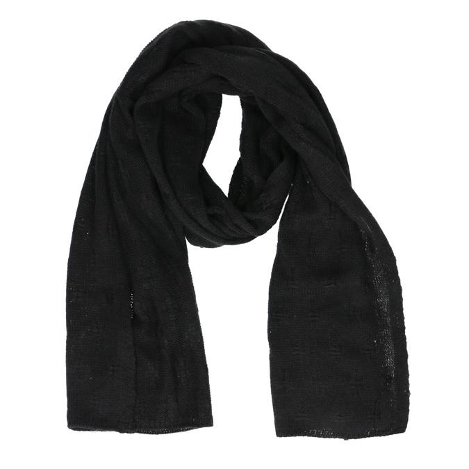 Černá šála bata, černá, 909-6204 - 13