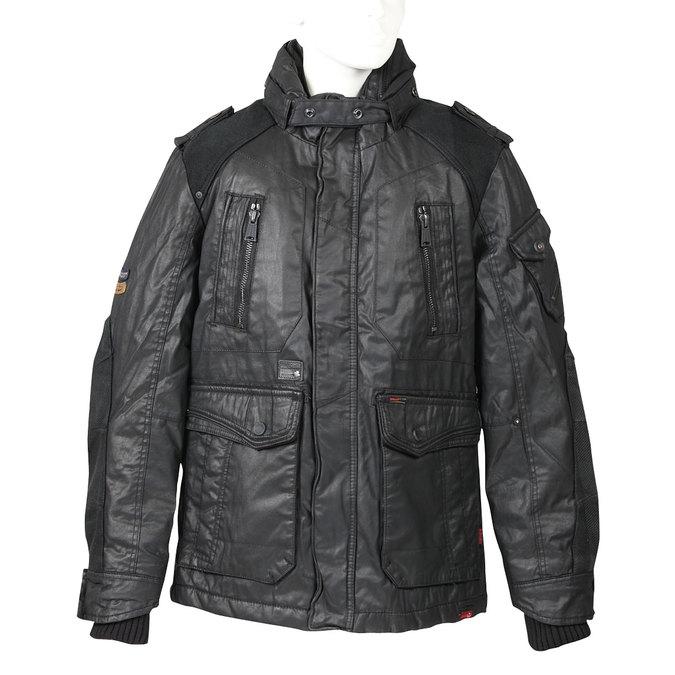 Pánská zimní bunda khujo, černá, 979-6036 - 13
