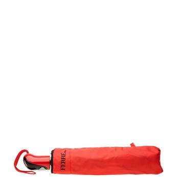 Červený skládací deštník ferre, červená, 929-5052 - 13