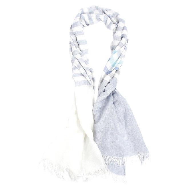 Pruhovaná šála fraas, modrá, 929-9063 - 13