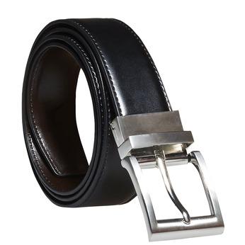 Pánský kožený opasek bata, černá, 954-6122 - 13