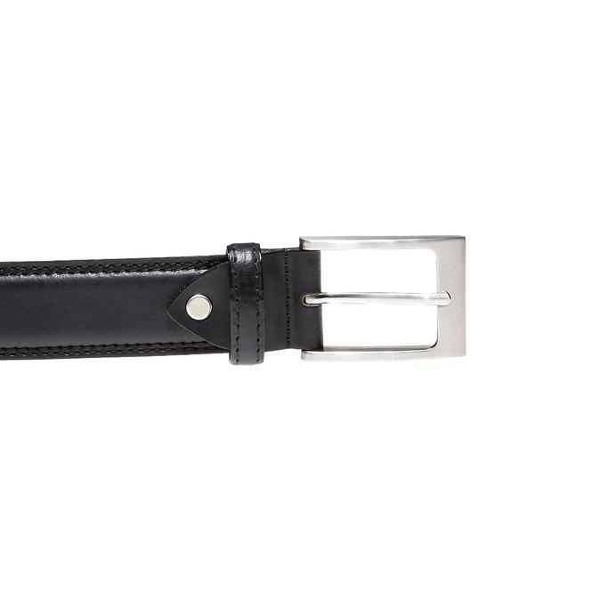 Pánský pásek bata, černá, 954-6828 - 26