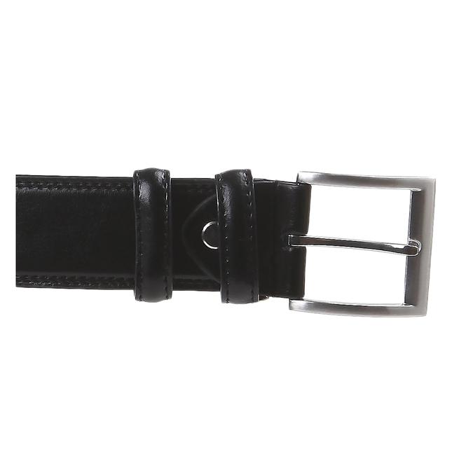 Klasický kožený pásek bata, černá, 954-6888 - 26