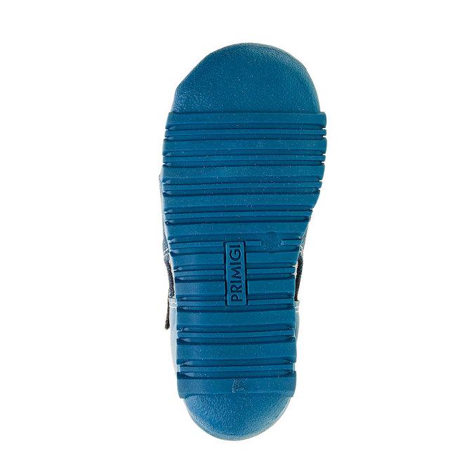 Chlapecké sandály na suchý zip primigi, modrá, 111-9139 - 26