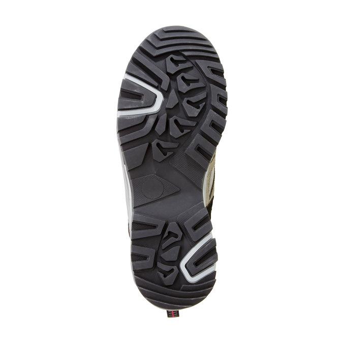 Kožené Outdoor boty, šedá, 543-2208 - 26