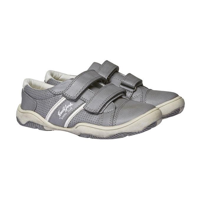 Dětské tenisky na suché zipy mini-b, šedá, 311-2214 - 26
