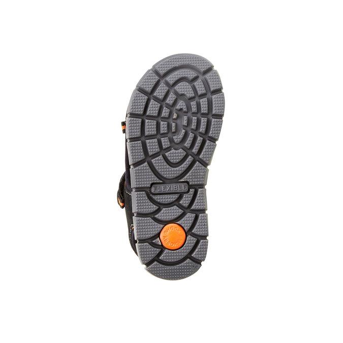 Dětské sandály mini-b, černá, 361-6120 - 26