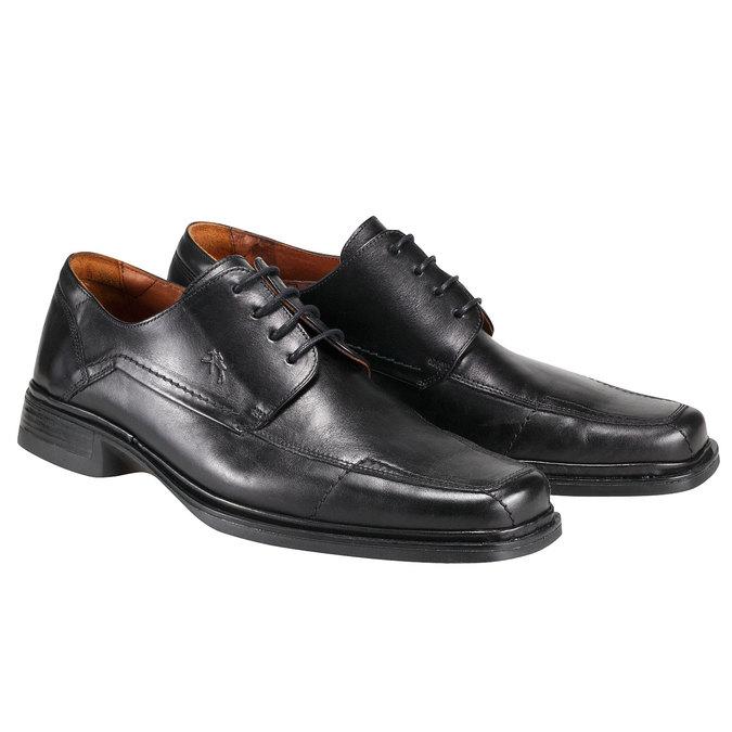 Kožená obuv fluchos, černá, 824-6783 - 26