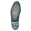 Modré kožené polobotky conhpol, modrá, 824-9733 - 26