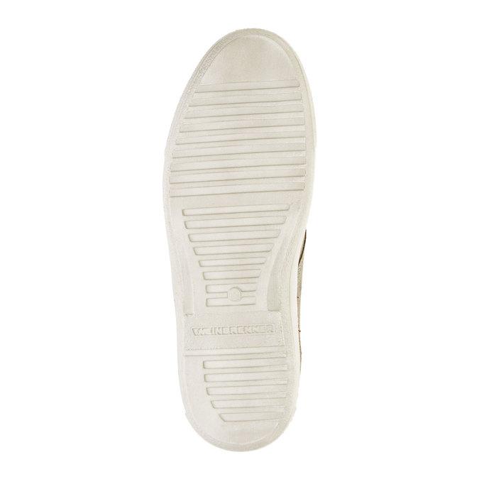 Pánská kožená obuv weinbrenner, hnědá, 843-2661 - 26