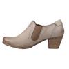 Kožená kotníčková obuv bata, žlutá, 626-8102 - 15