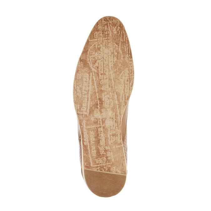 Ležérní kožené polobotky bata, hnědá, 824-4290 - 26