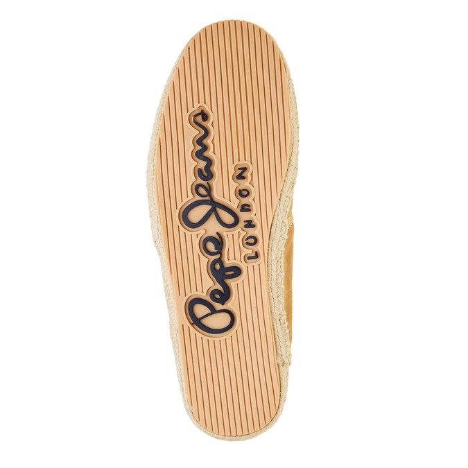 Pánské kožené tenisky pepe-jeans, hnědá, 823-3011 - 26