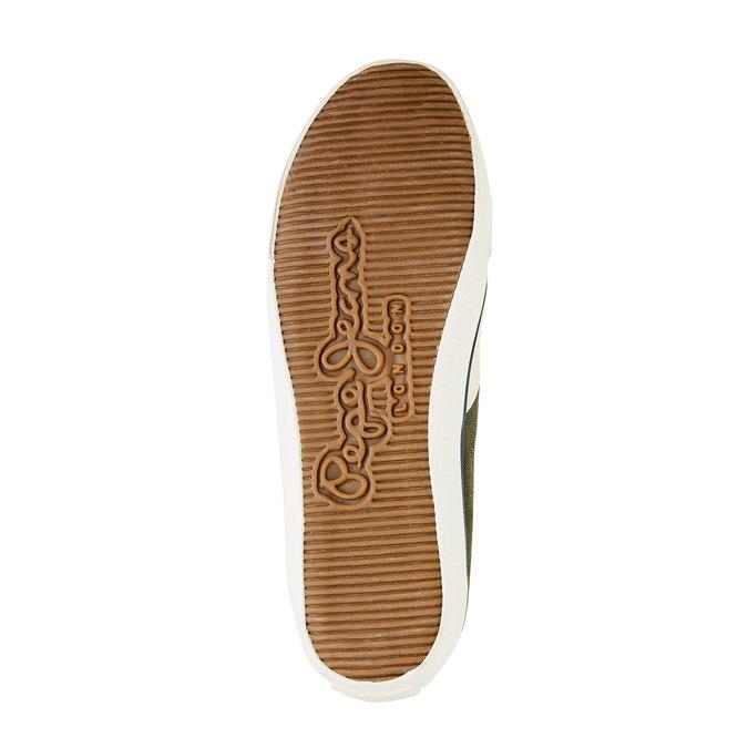 Pánské kotníčkové tenisky pepe-jeans, zelená, 849-7013 - 26