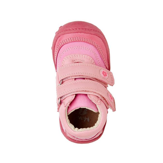 Dívčí kotníčkové boty mini-b, růžová, 121-5104 - 19