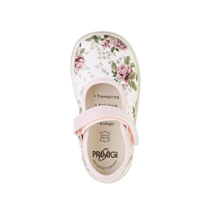 Dívčí boty s potiskem růží primigi, růžová, bílá, 129-0138 - 19