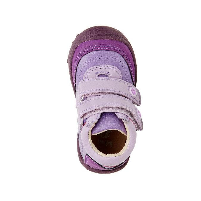 Dívčí kotníčkové boty mini-b, fialová, 121-9104 - 19