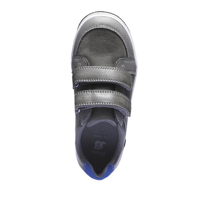 Tenisky na suchý zip mini-b, šedá, 311-2119 - 19