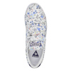 Dámské tenisky s květinovým potiskem le-coq-sportif, bílá, 501-1401 - 19
