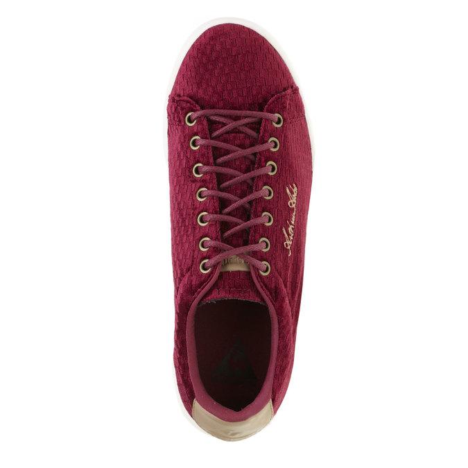 Ležérní tenisky le-coq-sportif, červená, 509-5105 - 19