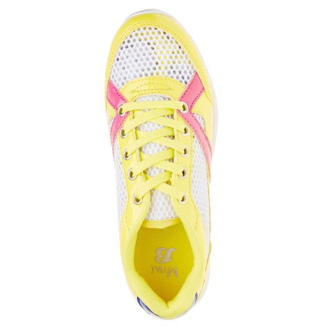 Dětské tenisky mini-b, žlutá, 329-8175 - 19