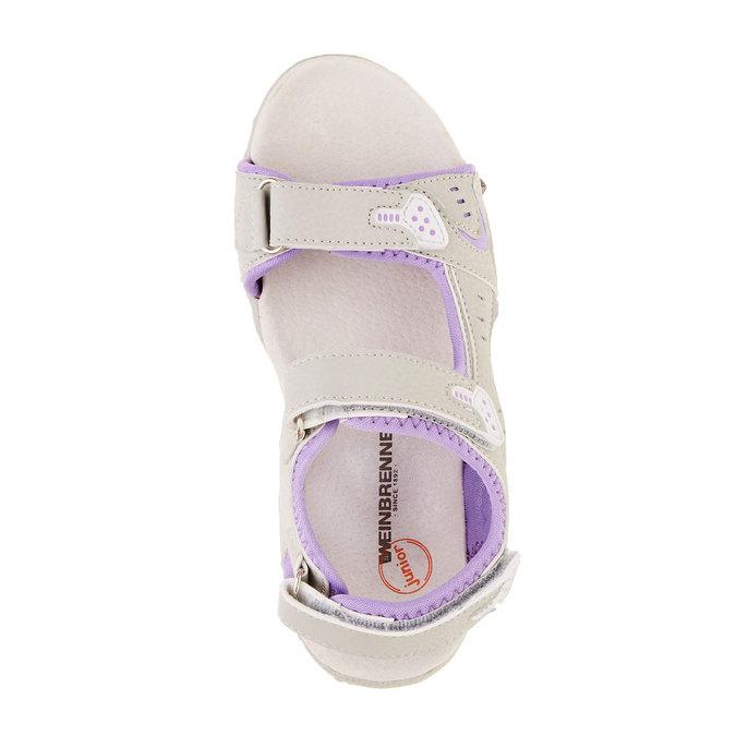 Dětské sandály weinbrenner-junior, šedá, 361-2552 - 19