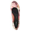 Dámské kožené baleríny rockport, červená, 526-5102 - 19