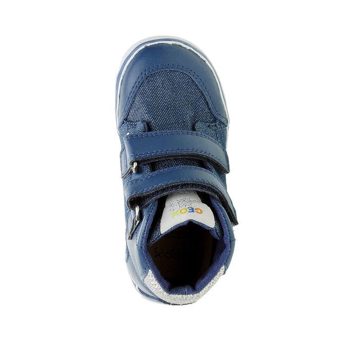 Dětské kotníčkové tenisky geox, modrá, 129-9101 - 19