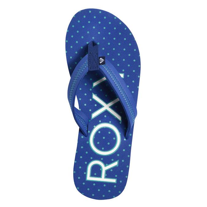 Dámské žabky roxy, modrá, 571-9012 - 19