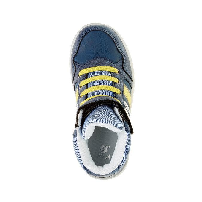Dětské kotníčkové tenisky mini-b, modrá, 211-9156 - 19