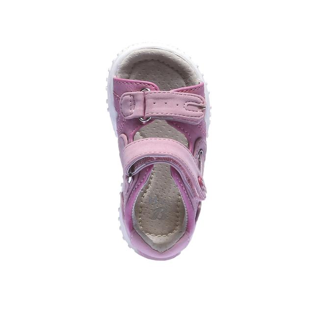 Dívčí sandály mini-b, červená, 161-5116 - 19