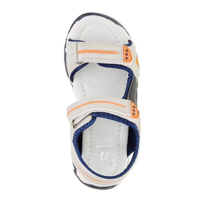 Dětské sandály mini-b, šedá, 361-2181 - 19