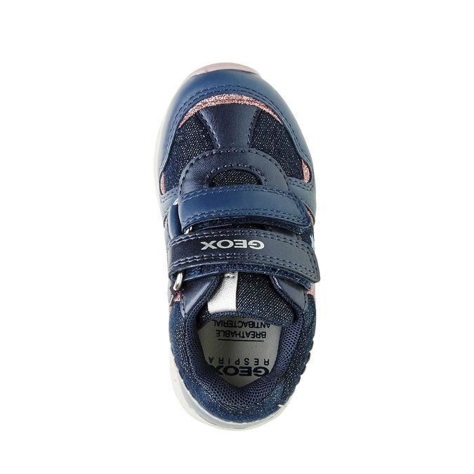 Dětské prodyšné tenisky geox, modrá, 129-9102 - 19