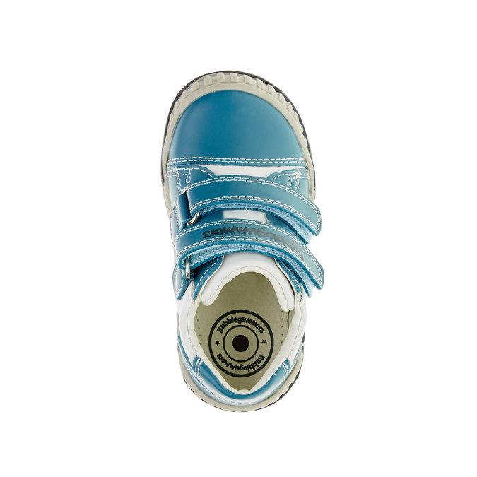 Dětské tenisky na suché zipy bubblegummer, modrá, 113-9145 - 19