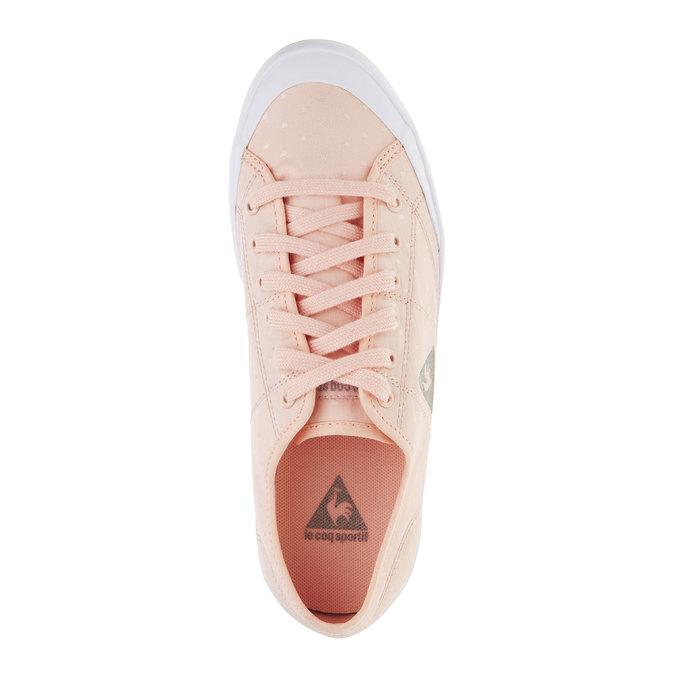 Růžové ležérní tenisky le-coq-sportif, růžová, 589-5323 - 19