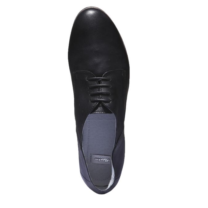 Kožené polobotky bata, černá, 524-6169 - 19