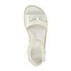 Dívčí sandály s kamínky mini-b, bílá, 261-1160 - 19