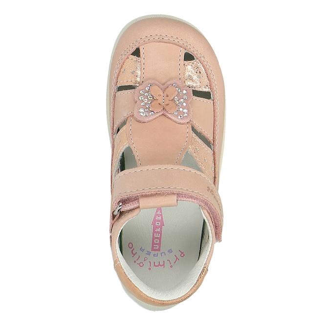 Kožené dívčí sandály primigi, růžová, 124-5004 - 19