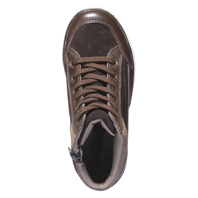 Kids shoes mini-b, hnědá, 313-4178 - 19