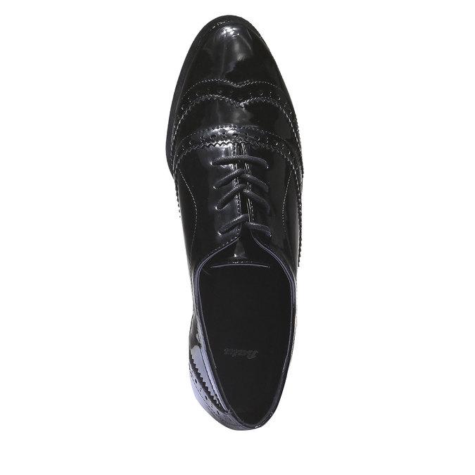 Dámské polobotky bata, černá, 521-6104 - 19