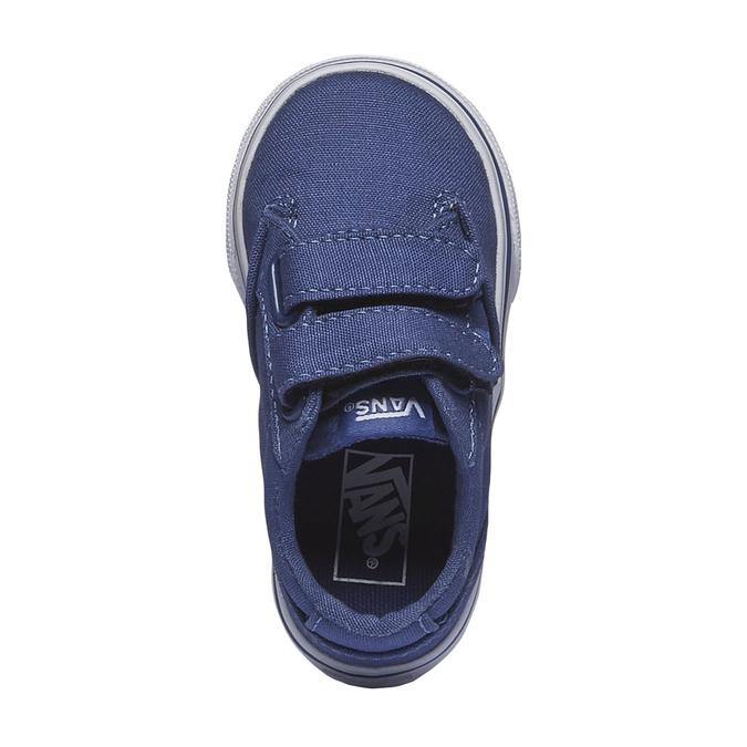 Dětské tenisky na suchý zip vans, modrá, 189-9160 - 19