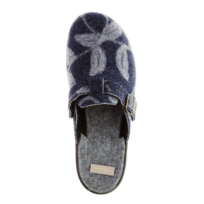 Domácí obuv bata, modrá, 579-9221 - 19