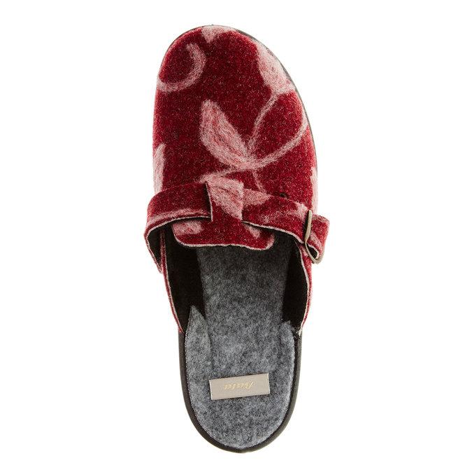 Domácí obuv bata, červená, 579-5221 - 19