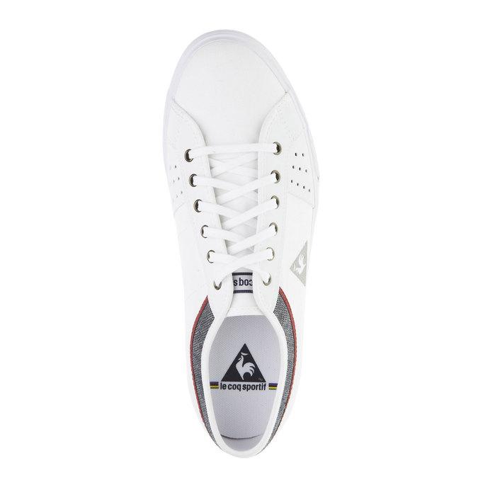 Bílé pánské tenisky le-coq-sportif, bílá, 889-1142 - 19