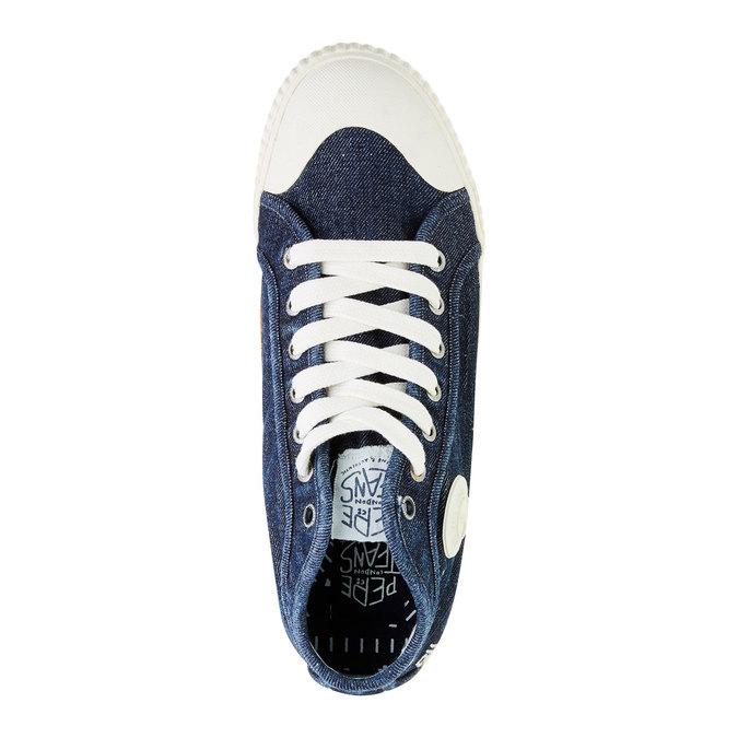 Pánské tenisky pepe-jeans, modrá, 829-9009 - 19