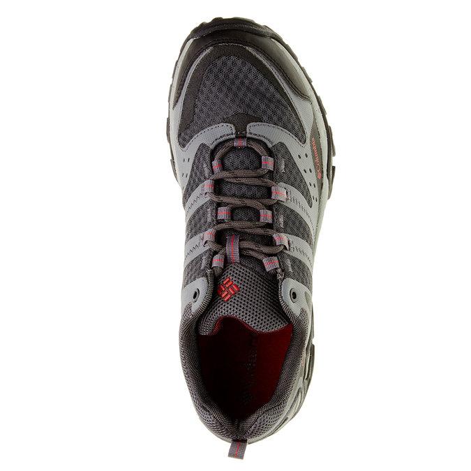 Pánská sportovní obuv columbia, šedá, černá, 849-6018 - 19