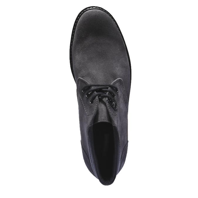 Pánské semišové boty bata, šedá, 893-2261 - 19