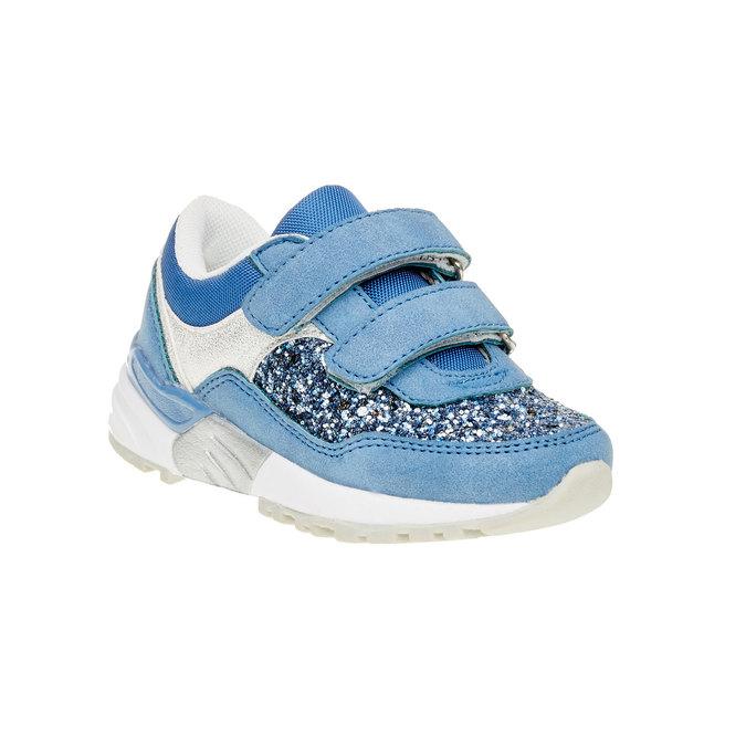 Dětské tenisky se třpytkami mini-b, modrá, 221-9150 - 13